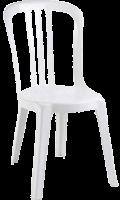 Chaises blanche location Tecknyscene Paray le Monial Saone et Loire Mariage